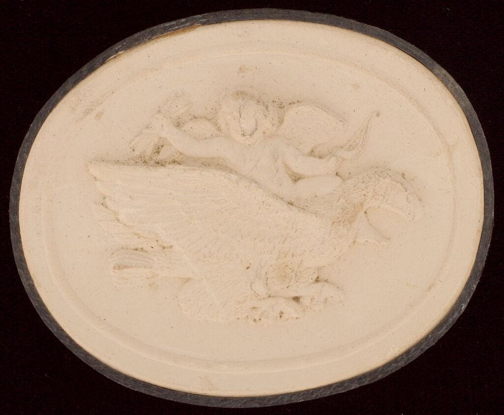 Cupid Riding An Eagle Symbolizing Air, After Thorwaldsen