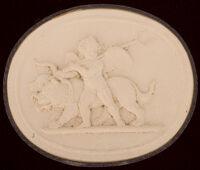 Cupid Leading Cerberus, Symbolizing Fire, After Thorwaldsen