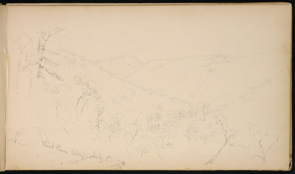 Cheat River Valley; Verso: Cheat River And Monongahela River