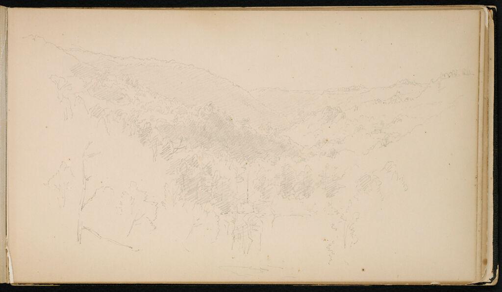 Landscape; Verso: Brocketts July 29