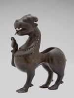 Incense Burner In The Form Of A Lion