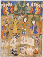 Day Of Judgment, Folio From A Manuscript Of The Falnama (Book Of Omens).