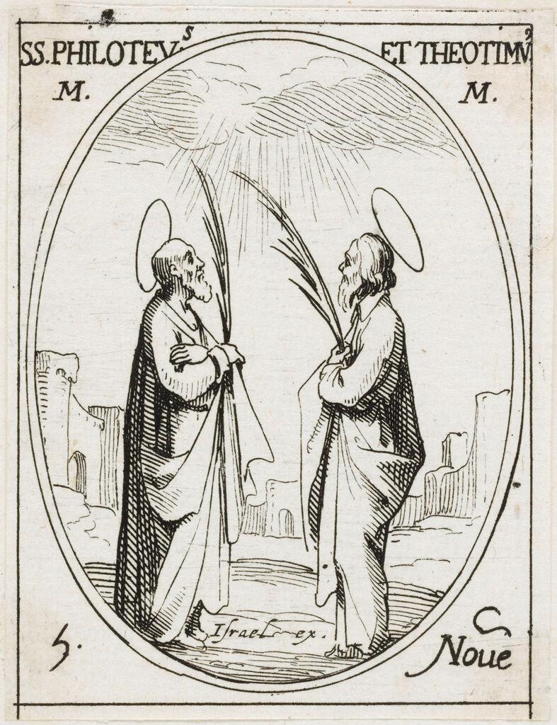 Saints Philoteus And Theotimus