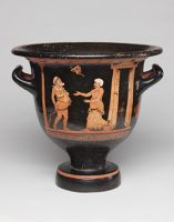 Bell Krater (Mixing Bowl For Wine And Water): Scene From A Comic Play