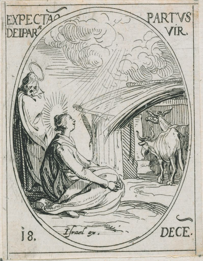 Virgin In Anticipation Of The Birth Of Christ