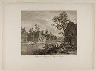 Ferry-boat on the Scheldt in Flanders