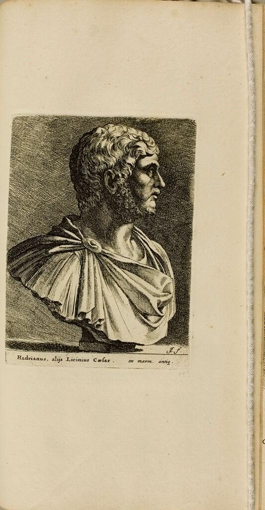 Plate 55: Head Of Hadrian, Alias Lucius Caesar