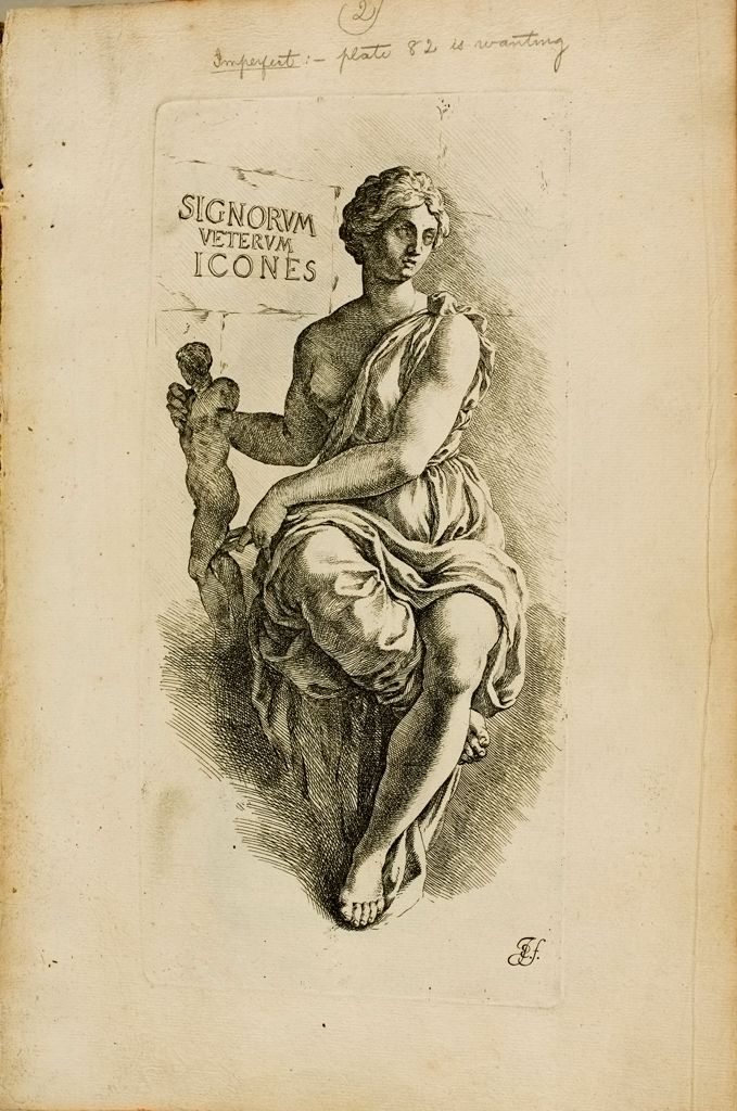 Title Page: Personification Of The Art Of Sculpture And Painting