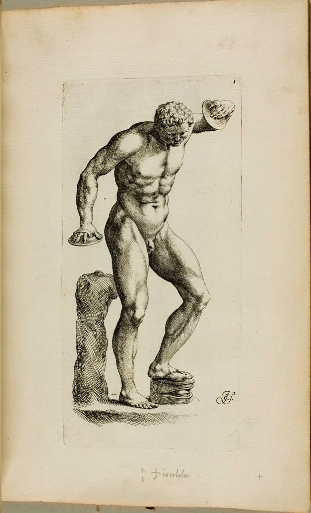 Plate I: Satyr Beating Time With A Wooden Foot-Clapper