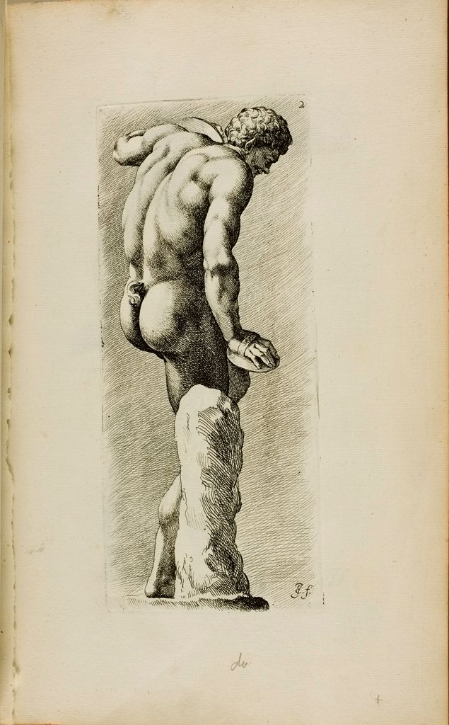 Plate 2: Back View Of Satyr Beating Time With A Wooden Foot-Clapper