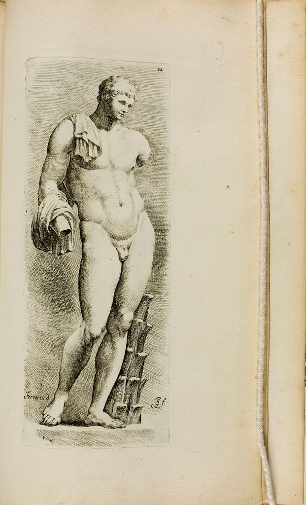 Plate 12: Hermes, Often Called The Belvedere Antinous