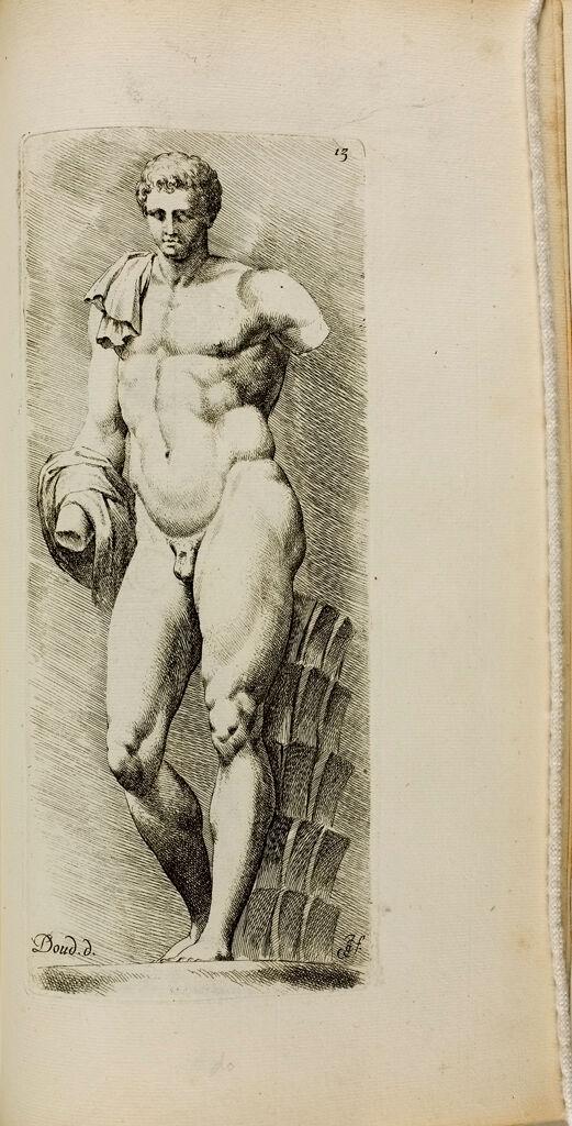Plate 13: Hermes, Often Called The Belvedere Antinous
