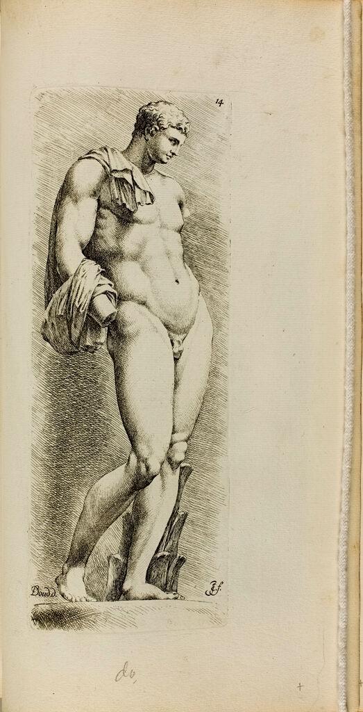 Plate 14: Hermes, Often Called The Belvedere Antinous