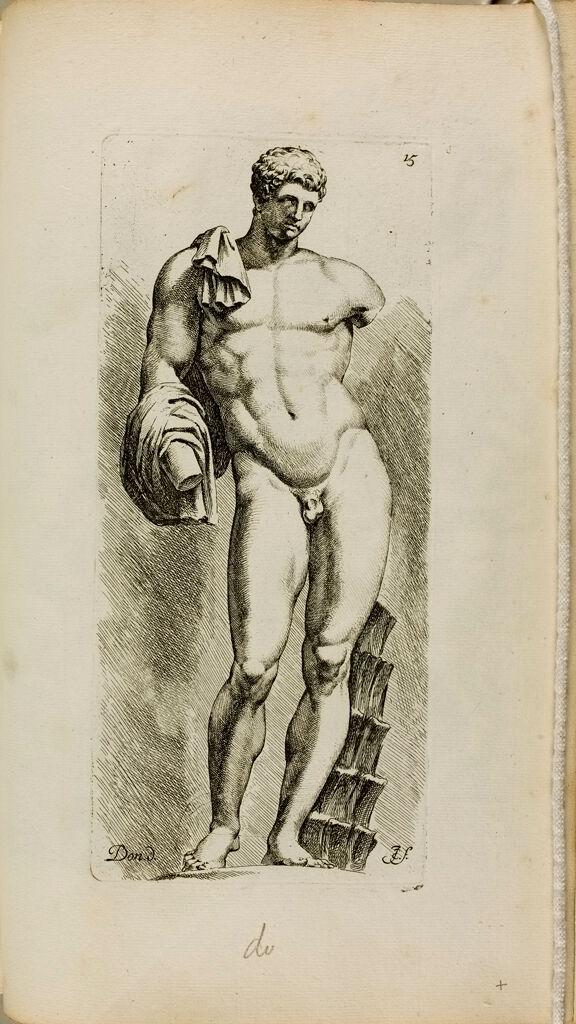 Plate 15: Hermes, Often Called The Belvedere Antinous