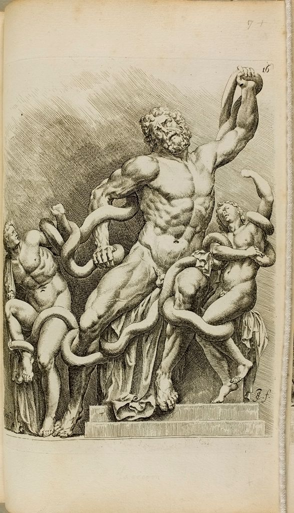 Plate 16: Laocoon And His Sons