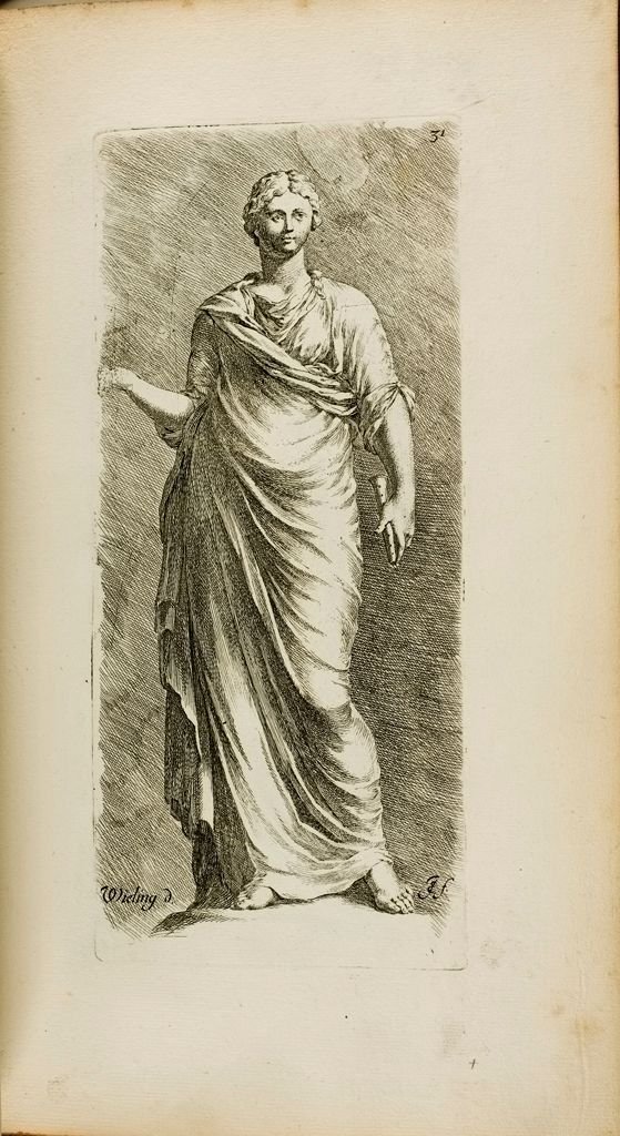 Plate 31: Female Figure, Restored As A Muse, And Called Urania