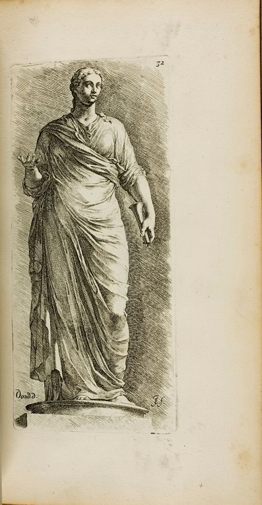 Plate 32: Female Figure, Restored As A Muse, And Called Urania