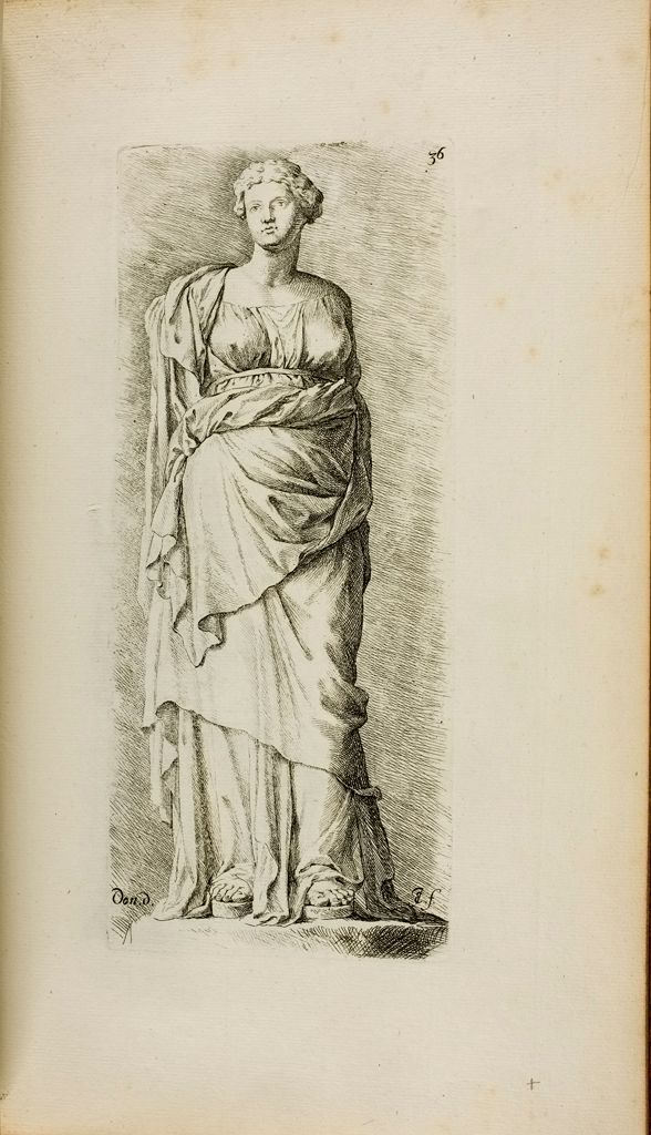 Plate 36: Female Figure, Known As The Cesi Juno