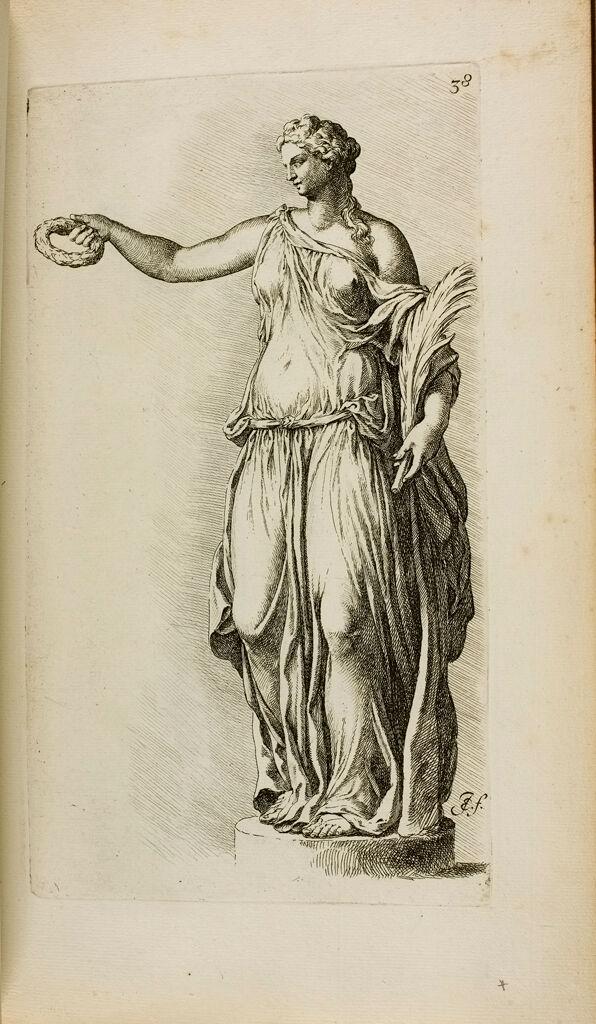 Plate 38: Female Statue, Restored As A Nike
