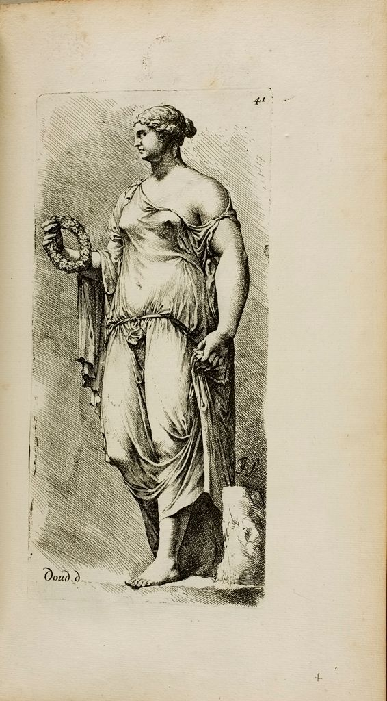 Plate 41: Female Statue, Known As The Farnese Flora