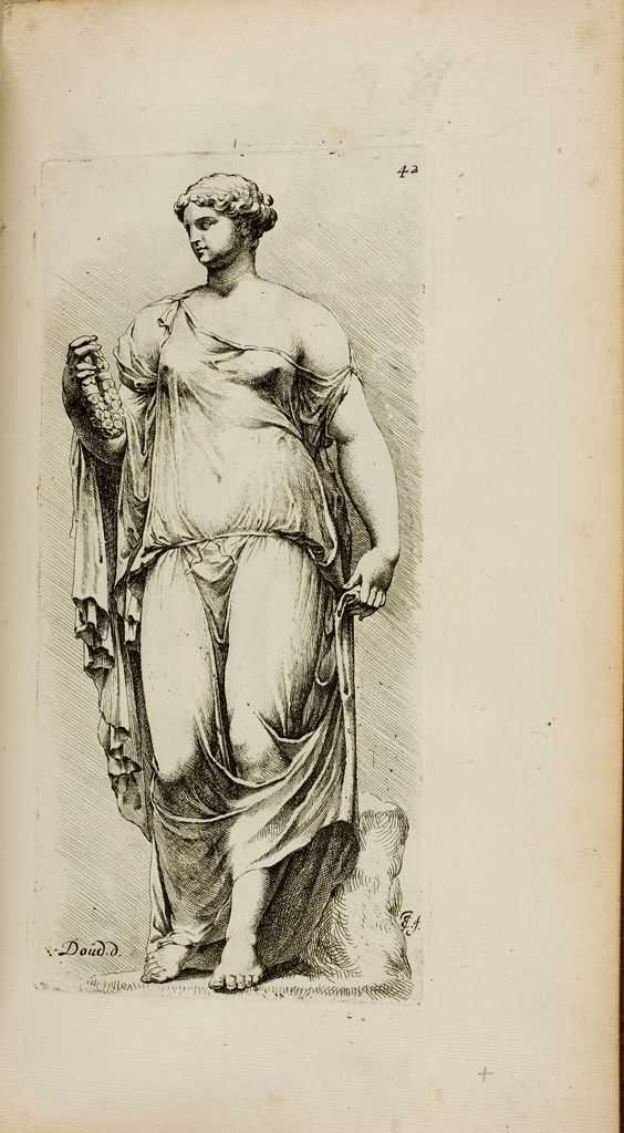 Plate 42: Female Statue, Known As The Farnese Flora