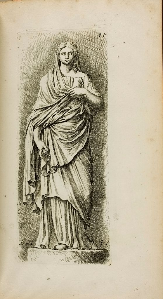 Plate 44: Sabina, Also Called Sibylla