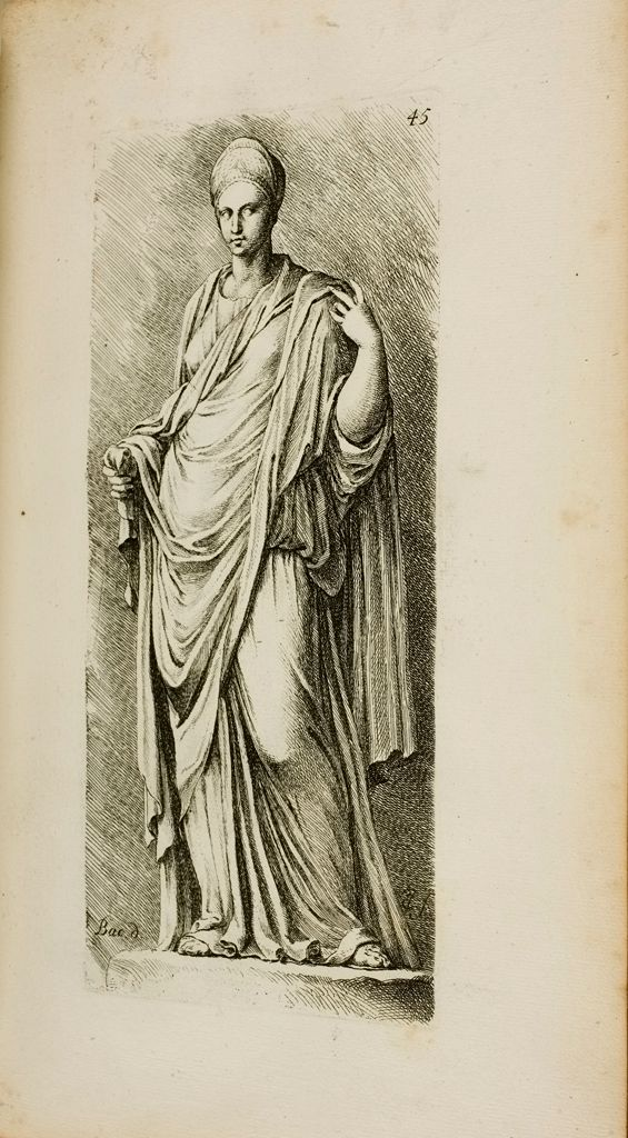 Plate 45: Sabina, Also Called Agrippina