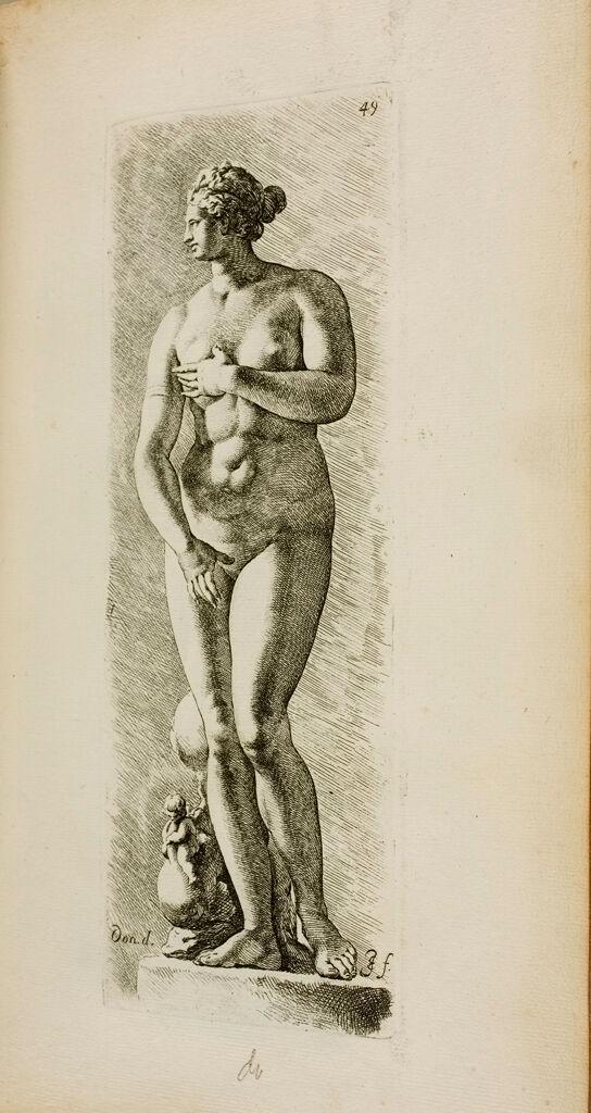 Plate 49: Aphrodite, Known As The Venus De' Medici