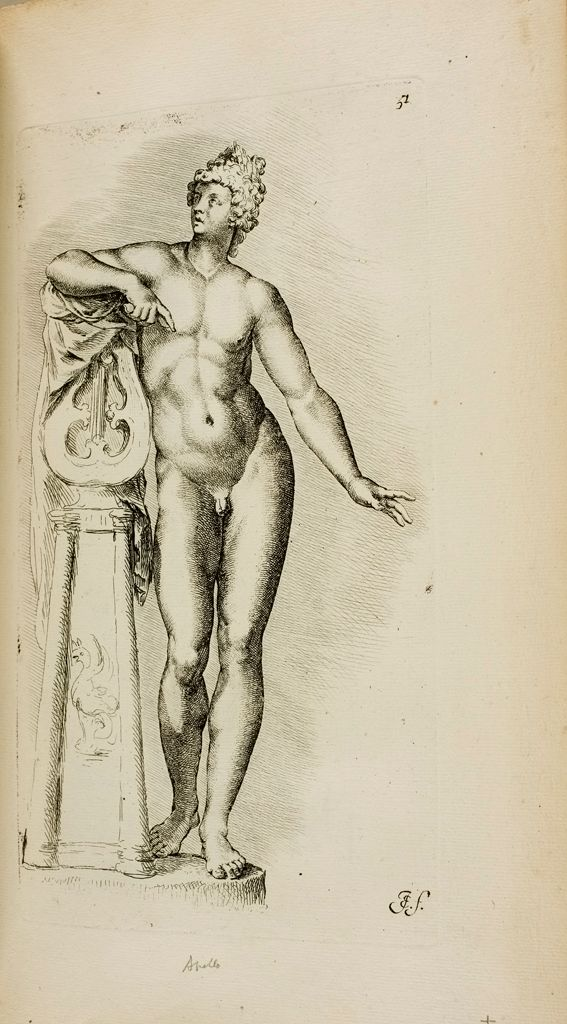 Plate 51: Apollo Sauroctonos (With The Cithara)
