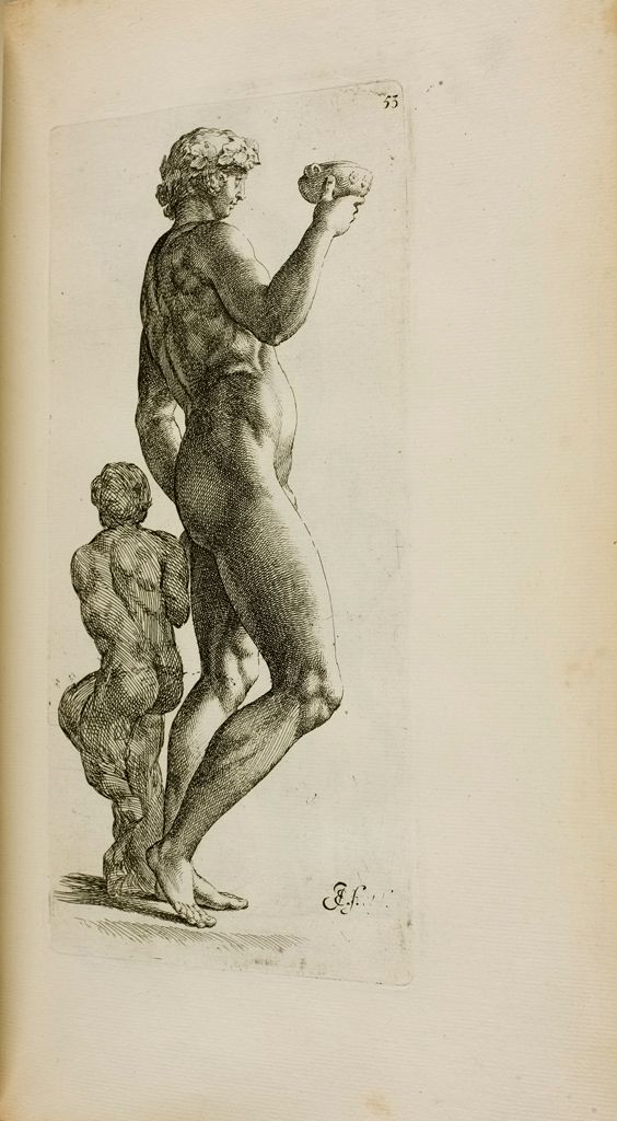 Plate 53: Bacchus With Satyr