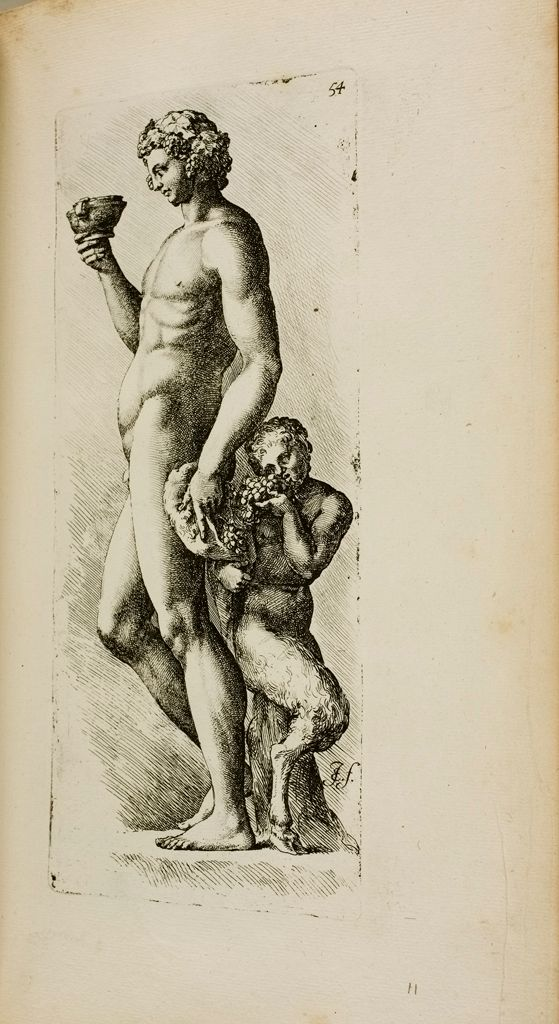 Plate 54: Bacchus With Satyr
