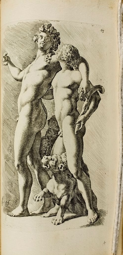 Plate 63: Dionysus And Satyr