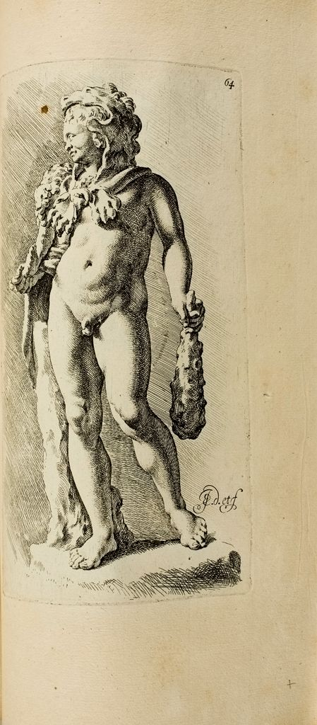 Plate 64: The Infant Hercules, Or The Infant Dionysus In The Costume Of Hercules