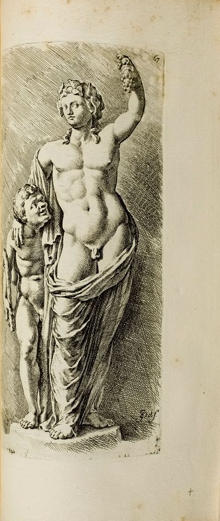 Plate 67: Dionysus And Satyr