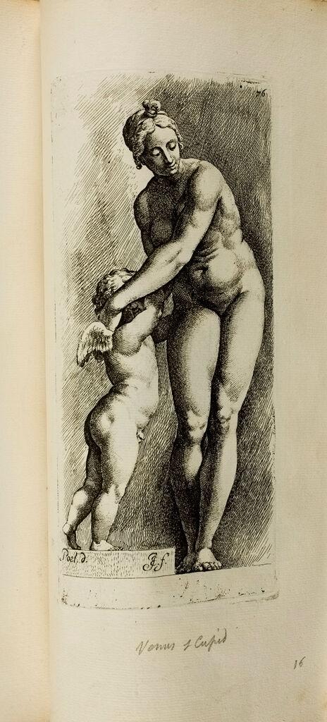 Plate 76: Aphrodite And Eros