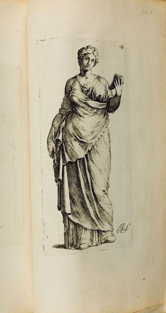 Plate 84: Draped Female Figure, Known As