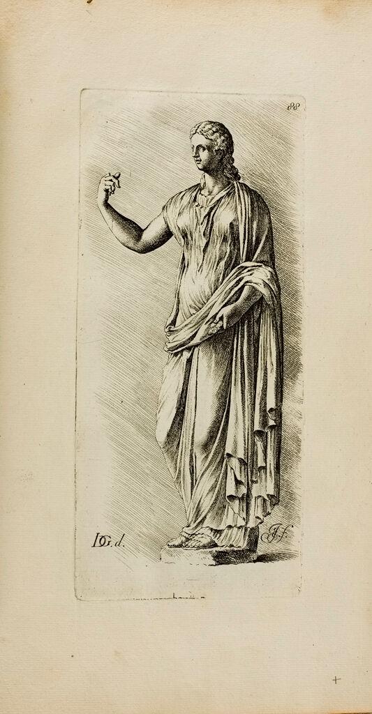 Plate 88: Draped Female Statue