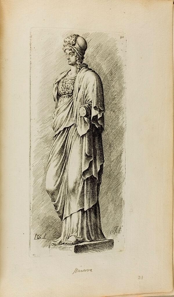 Plate 90: Athena - Minerva