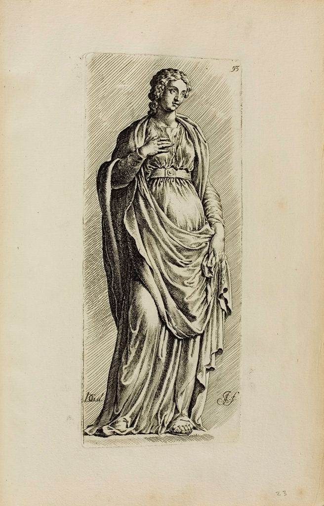 Plate 93: Draped Female Figure