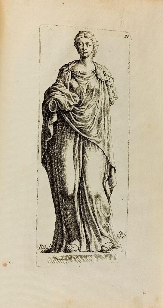 Plate 94: Draped Female Statue, Perhaps Of Hygieia