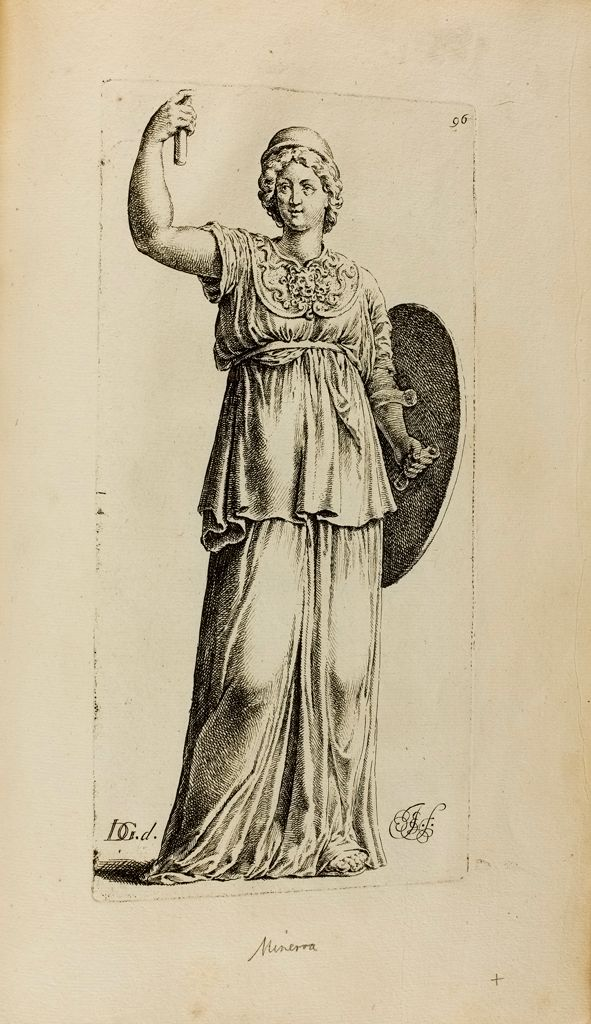 Plate 96: Athena Or Minverva