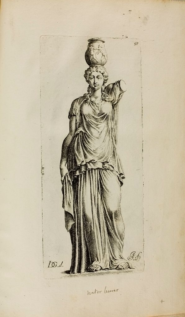 Plate 97: Caryatid Or Canephore