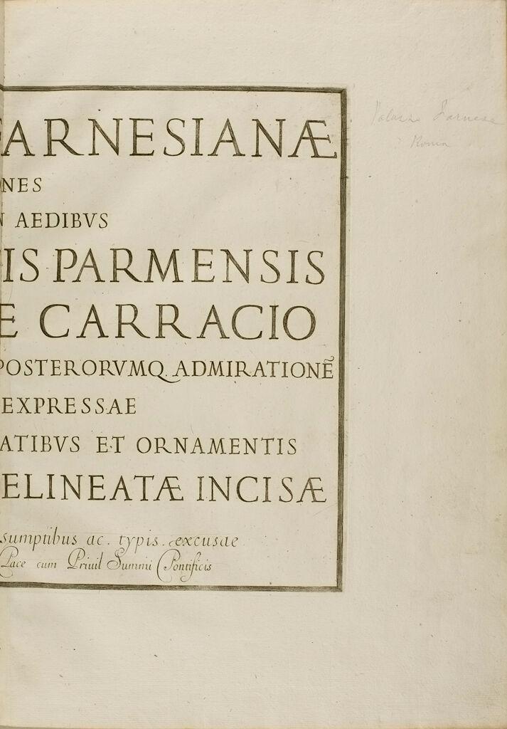 Galeriae Farnesianae