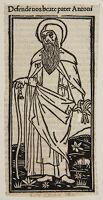 Saint Anthony, Printer's Mark Of Philippo Pincio