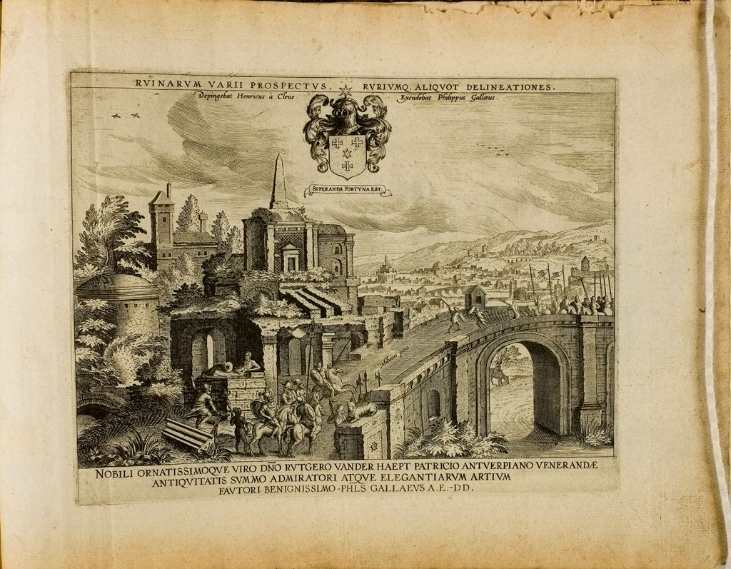 Title Page: Various Ruins And Views ...