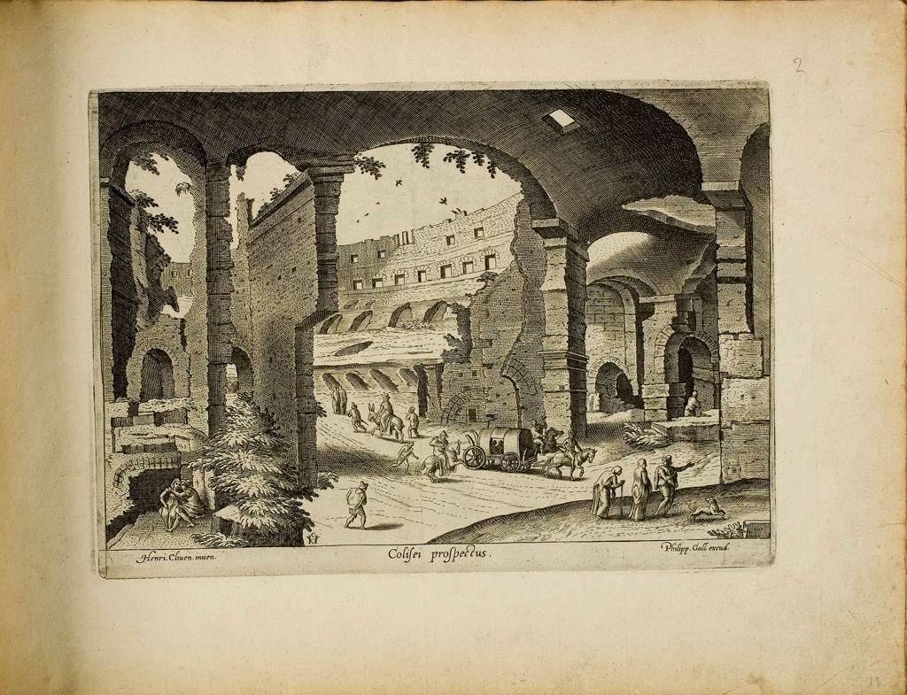 Interior Of The Colosseum (Colisei Prospectus)