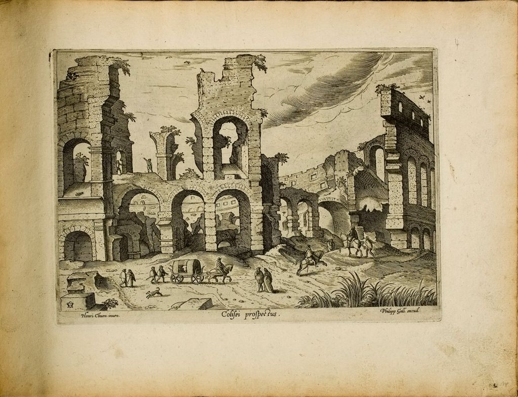 Exterior Of The Colosseum (Colisei Prospectus)