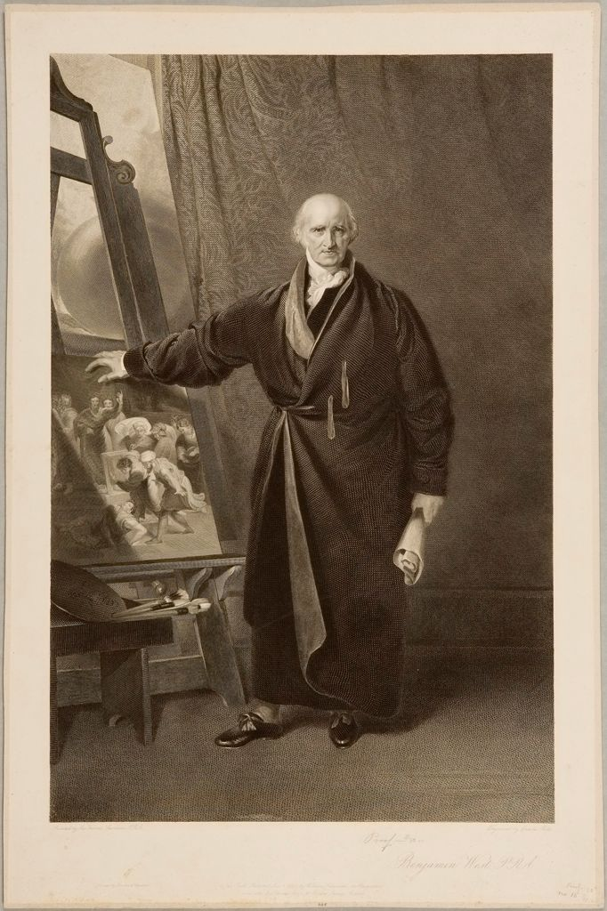 Portrait Of Benjamin West