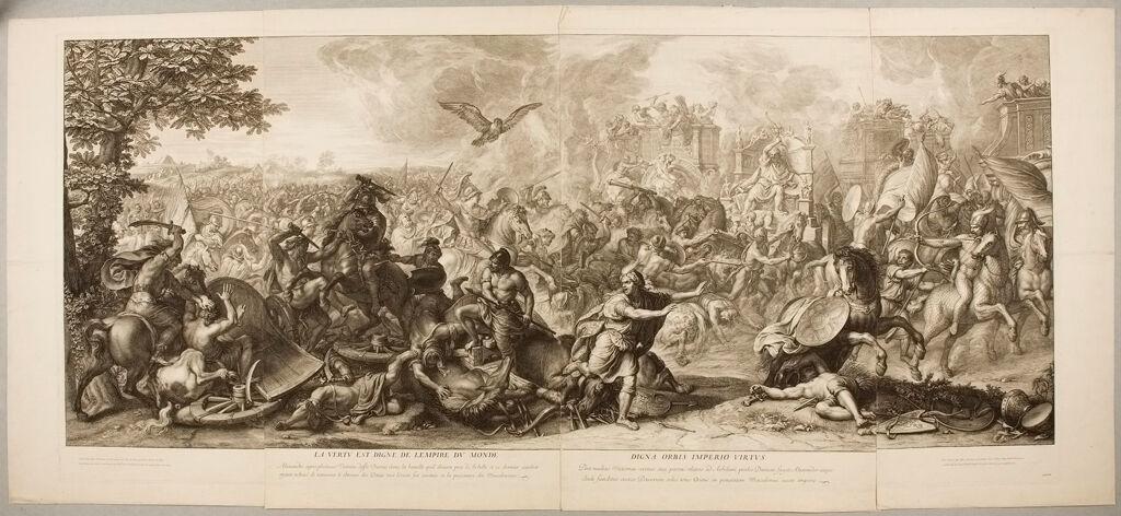 The Defeat Of Darius At Arbela