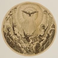 Holy Spirit Surrounded by Angels